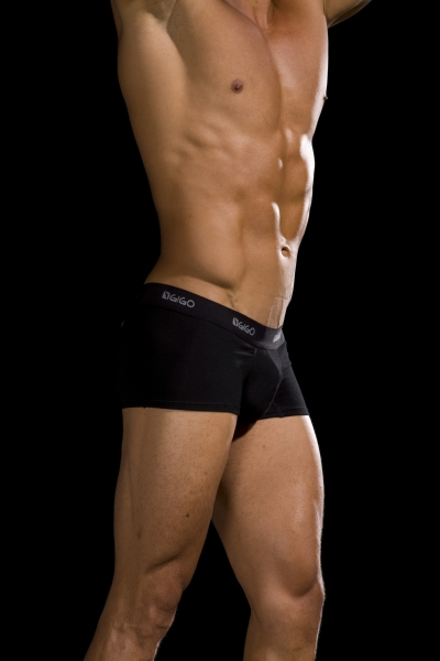 Men's EverLight Black/Gray Boxer Briefs, 3 Pack is rated out of 5 by 9. Rated 1 out of 5 by Chico from Invisible underwear I was so intrigued by the commercial on these boxers, I purchased 8 packs of these boxers.
