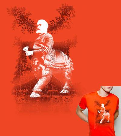 Gustav Hunted Jackalopes T-shirt by Kindred :  shopping t-shirt funny clothes