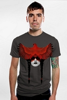 Men�s Cardinal Warrior (Asphalt) Tee