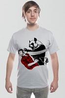 Men's Panda Bitchslap (Silver) Tee