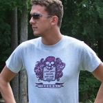 Steve Rosswick T-shirts at All Favouries (Pin-up Victorian Modern Humourous and always Inspired) :  shopping modern t-shirt funny